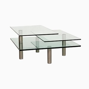 Imperial Glass Coffee Table by Peter Draenert for Draenert