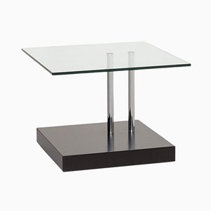 Black and Glass K425 Coffee Table from Ronald Schmitt