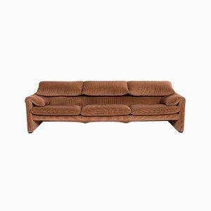 Light Brown Fabric Maralunga 3-Seat Sofa from Cassina