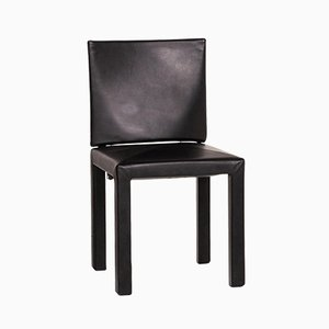 Black Leather Chair from B&B Italia