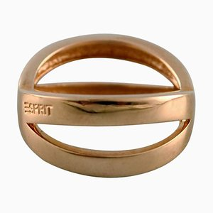 Modern 14 Karat Gold Ring from Esprit