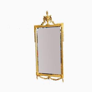 Antique Mirror with Gold Trim, 1880s