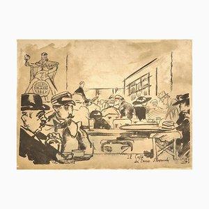 Caffè Greco - Original Print - 1918 1918