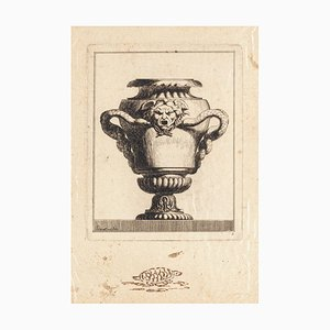 Design for Vase - Original Etching - Late 18th Century Late 18th Century
