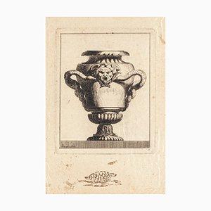 Design per Vaso - Incisione originale - Fine XVIII secolo, fine XVIII secolo