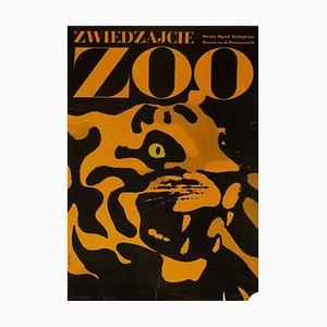 Visit Warsaw Zoo   Poland   1967