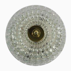 Mid-Century Bubble Glas Deckenlampe von Limburg