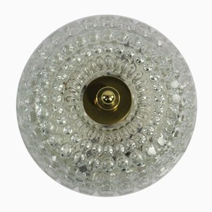 Mid-Century Bubble Glass Ceiling Lamp from Limburg