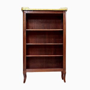 Small Louis XV Mahogany Bibus Bookcase, 1920s