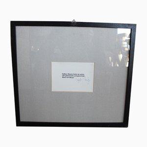 Autogrammkarte von Joseph Beuys, 1980er