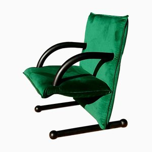 T-Line Lounge Chair by Burkhard Vogtherr for Arflex, 1980s