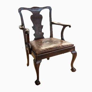Antique Chippendale Armchair
