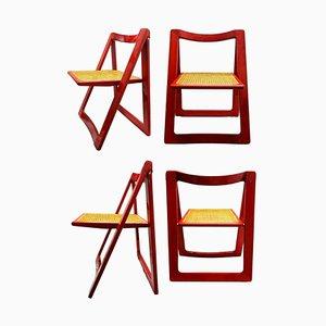 Trieste Esszimmerstühle von Aldo Jacober für Bazzani, 1966, 4er Set
