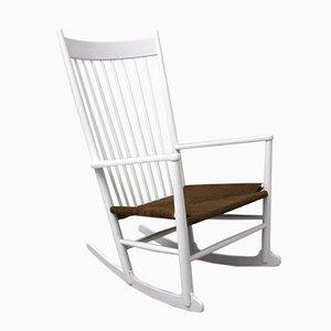 Rocking Chair J16 par Hans Wegner pour Mobler F. D. B., 1964