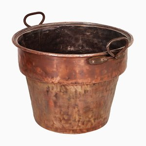 Italian Copper Pot with 2 Carrying Handles