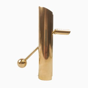 Swedish Brass Variabel Candleholder by Pierre Forssell for Skultuna, 1960s