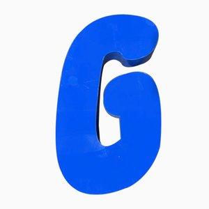 Vintage Plexiglas Letter G Sign