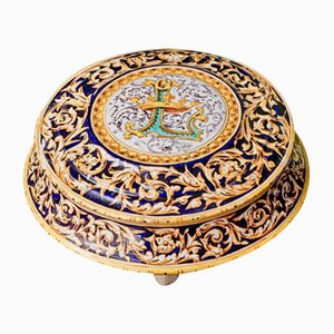 Antique Candy box by Josaphat Tortat, 1875