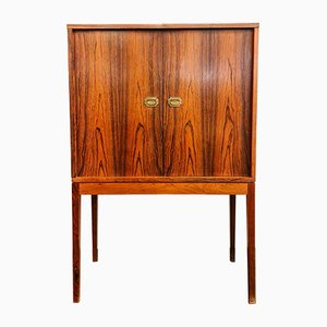 Mid-Century Danish Rosewood Bar Cabinet by Korch Henning for Silkeborg Møbelfabrik, 1950s