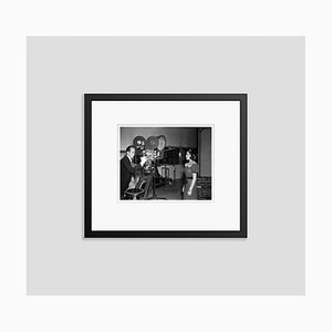 Lana Turner Screen Test Archival Pigment Print Framed in Black by Everett Collection