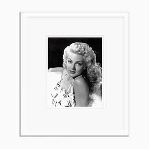 Stunning Lana Turner Archival Pigment Print Framed in White by Everett Collection