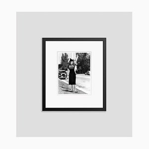 Lana Turner Fashion Shoot Archival Pigment Print Framed in Black by Everett Collection