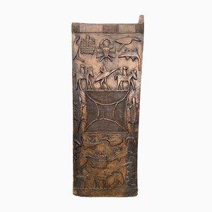 Große antike afrikanische Senufo Tür aus Holz