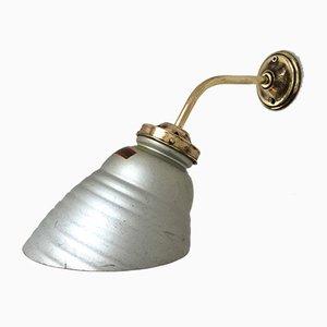 Mercury Wandlampe aus Glas von Zeiss Ikon, 1930er