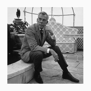 Lee Marvin Silver Gelatin Resin Print Framed in Black by Victor Drees