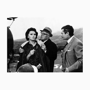 Marriage Italian Style with Sophia Loren Archival Pigment Print Framed in Black by Everett Collection
