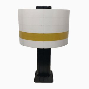 Strigram Table Lamp by Jean-Pierre Vitrac for Verre Lumière, 1980s