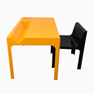 Ozoo Desk Set by Marc Berthier for Roche Bobois, 1960s, Set of 2