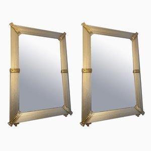 Murano Glas Spiegel, 2000er, 2er Set