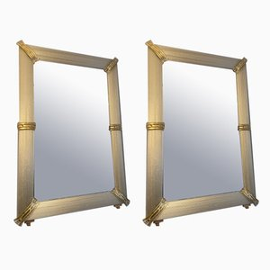 Specchi in vetro di Murano, inizio XXI secolo, set di 2