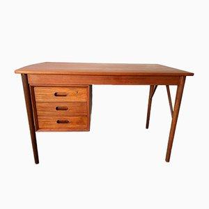 Vintage Scandinavian Teak 3-Drawer Desk by Arne Vodder, 1960s