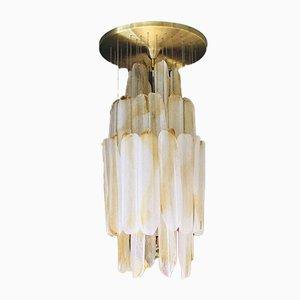 Murano Deckenlampe von Mazzega, 1970er