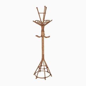 Spanish Bamboo Standing Coat Rack, 1970s