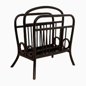 Antique Austrian Nr. 33 Newspaper Rack by Michael Thonet, 1905