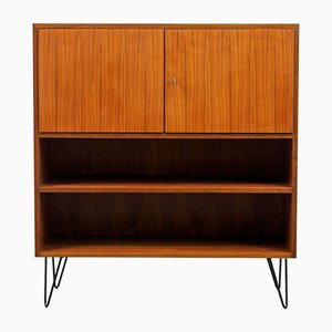 Walnut Highboard with Hairpin Legs, 1960s