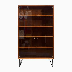 Large Teak Cabinet with Hairpin Legs, 1960s