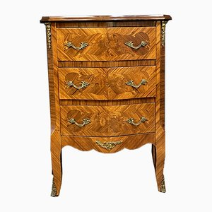 Louis XV Marquetry Chest of Drawers, 1950s
