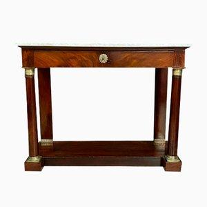 Empire Mahogany Console Table, 1810s