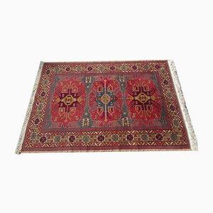 Antique Russian Handmade Wool Oriental Carpet