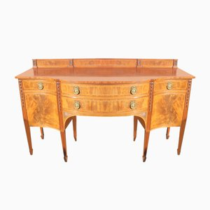 Mahogany Bow Front Sideboard from Waring and Gillow, 1920s