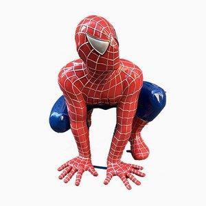 Escultura Spiderman, años 2000