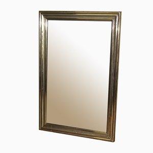 Antique Brass Mirror