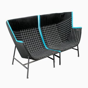 Paper Planes Armchairs with Swarovski Crystals by Nipa Doshi & Jonathan Levien for Moroso, Set of 2