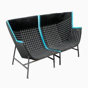 Paper Planes Sessel mit Swarovski Kristallen von Nipa Doshi & Jonathan Levien für Moroso, 2er Set