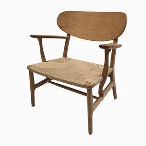 CH22 Armlehnstuhl von Hans J. Wegner für Carl Hansen & Son
