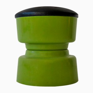Vintage Plastic Stool, 1970s